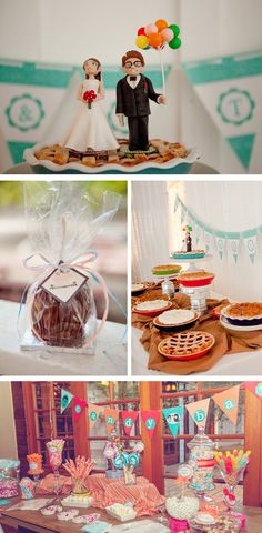 Colorful Carnival-Themed Fall Wedding in California | WeddingWire: The Blog