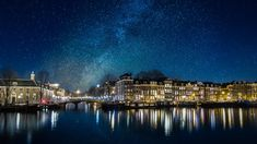 See the The Milky Way over Amsterdam by John Cavacas Photography