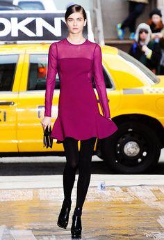 The Trendy Dress 4Fall 2012!  DKNY FALL-Winter2012.