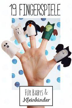 Hand- und Fingerspiele  machen nicht nur Spaß, sondern fördern auch die  Fantasie, die Sprachentwicklung und die Feinmotorik.