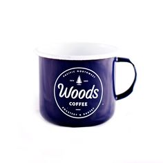 Perfect for adventuring & camping, our PNWoods enamel mug has a double layer on the handle rim for extra durability. Adventure on!