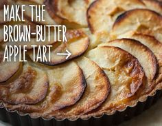 Brown-Butter Apple Tart Sneak in some flax seeds or try serving this with fresh whipped cream with some vanilla bean and hemp seeds gently folded in.