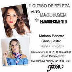 Esperamos vocês!! Últimas vagas!! Informações por direct ou pelo e-mail: chriscastro@nutricaoebeleza.com.br