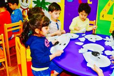 Zara thought the Ice-Sculpture was a ShootingStar!… White Fields British Nursery -An innovative learning experience...