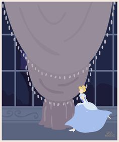 Disney Princess GIF series   Jeca Martinez   Illustration and Animation