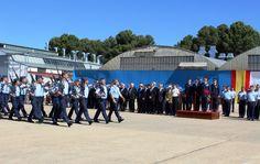 CAMBIO DE CORONEL EN LA MAESTRANZA AÉREA DE ALBACETE  Albacete Ayuntamiento de Albacete Cambio de Coronel Maestranza Aérea de Albacete Noticias Albacete