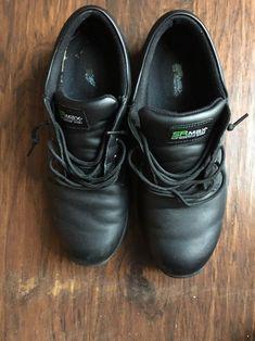 Men s Non-slip Lace Up Working SRM 1800 Shoes Black Size 12  fashion   110a7b99e