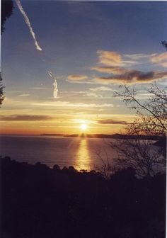 Long time ago Sun set in St Tropez