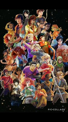 Most of the characters from the Rick Riordan Universe in one.(All art by Viria) Most of the characters from the Rick Riordan Universe in one.(All art by Viria) Percy Jackson Film, Percy Jackson Characters, Percy Jackson Quotes, Percy Jackson Fandom, Viria Percy Jackson, Rick Riordan Book Series, Rick Riordan Books, Magnus Chase, Castle Tv