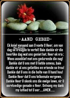 Baie Dankie, Evening Greetings, Afrikaanse Quotes, Good Night Blessings, Meet U, Goeie Nag, Prayers, Words, Sleep Tight