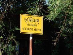 Accident ahead! - Crazy Dutch Abroad