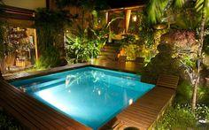 piscina de luxo pequena - Pesquisa Google