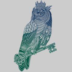 Owl King by RachelCaldwell