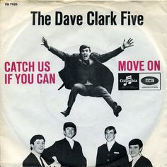 dave clark five 45 picture sleeves | DAVE CLARK FIVE (Denmark-65, Columbia DB 7625)-Catch Us If You Can ...
