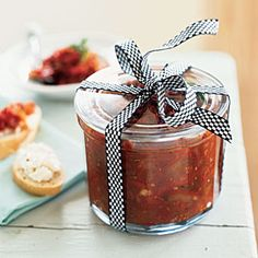 Homemade Holiday Food Gifts: Sun-Dried Tomato Jam | CookingLight.com