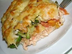 Casserole of vegetables and minced chicken Ingredients: minced chicken 1 large onion 2 tomatoes 1 sweet pepper 1 kartfelina tablespoons Mince Recipes, Fish Recipes, Vegetable Recipes, New Recipes, Chicken Recipes, Cooking Recipes, Favorite Recipes, Tostadas, Chicken Parmesan Casserole