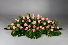 Funeral Floral Arrangements, Tropical Flower Arrangements, Church Flower Arrangements, Church Flowers, Artificial Flower Arrangements, Rose Arrangements, Beautiful Flower Arrangements, Funeral Flowers, Unique Flowers