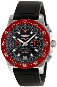 Breitling Mens A2736303/B823BKPD Skyracer Raven Black Dial Watch: Disclosure: affiliate link