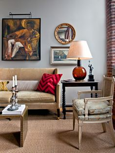 Eclectic Eclectic Living Room Design, Pictures, Remodel, Decor and Ideas - page 57