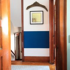 """On the blog a few years ago I quickly wrote a post titled """"Why I'll Never Paint Our Wood Trim."""" It was one of those last second, not necessarily interesting, nor instructional posts and guess what? It's one that people love the most! Read more at DecorAdventures.com"""