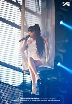 PARK BOM | 2NE1 ALL OR NOTHING 2014 WORLD TOUR IN INDONESIA x MATA ELANG INTERNATIONAL STADIUM (MEIS)