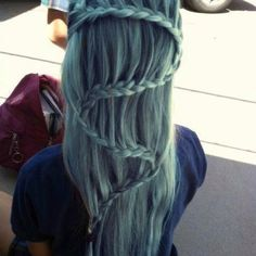 Love the color and the braid