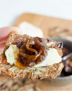 Best Ever Bacon Jam Ingredients 1 lb. thick cut bacon 2 extra large sweet onions, quartered and thickly sliced ½ cup brown sugar ⅓ cup strong brewed coffee 1  tablespoon balsamic vinegar