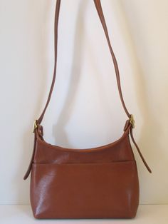 8e1f9888f2e7 1990 s COACH British Tan Legacy  9136 Shoulder Bag Small Cross Body  Messenger Patina Character Adjustable strap excellent vintage condition