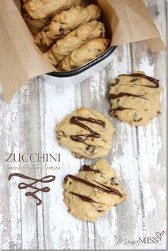 Zucchini Chocolate Chip Cookies   Mama Miss