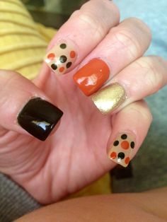 My fall nails :)