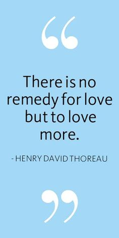 Love Quote | Henry David Thoreau