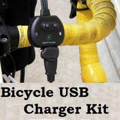 Bicycle USB Charger Kit USA