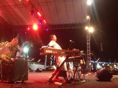 day 2nd #SanurVillageFestival2015 #Sanfest2015 performance by  Indra lesmana