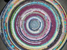 SCRAP RUG - I want to make one of these!!