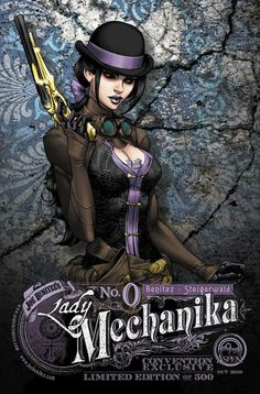 Lady Mechanika # 0 - Variant Cover by Joe Benitez
