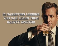 Harvey Specter has to be the most epic character. Here we pick up some Harvey Specter lessons for marketing: http://madmarketr.com/harvey-specter-marketing-lessons/