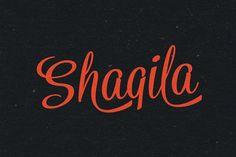 Shaqila by artimasa on @creativemarket