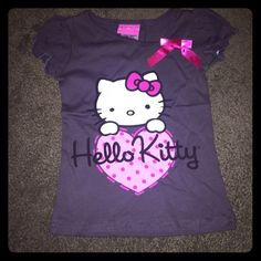 HELLO KITTY by SANRIO T-shirt sz 4 Brand new with tag never worn girl T-shirt size 4.  ***BUNDLE IS AVAILABLE*** Hello Kitty Shirts & Tops Tees - Short Sleeve