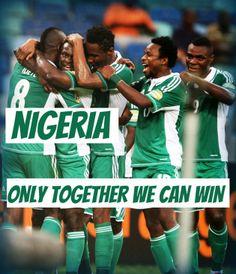 World Cup 2014 slogans - Nigeria