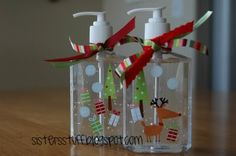 I have made these before - so easy, cute and fun!  Love these Christmas ones!