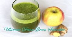 2014-01-13POST-Ultimate-Detox-Green-Smoothie-(1) Green Smoothie Recipes, Smoothies, Fitness Goals, Stay Fit, Detox, Healthy Living, Keep Fit, Healthy Life, Smoothie