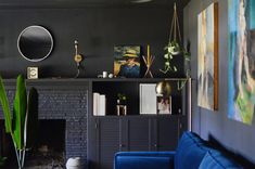 How to Pull Off Painting Your Living Room Black
