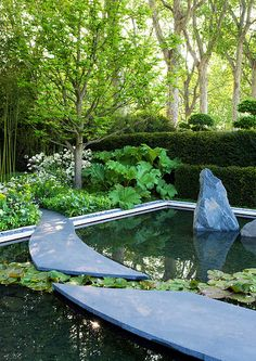 Daily Telegraph Garden di Arabella Lennox-Boyd Chelsea 2008