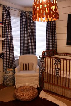 possibly the coolest baby boy room i've seen. Great blog too.