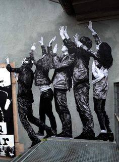 """By: Levalet -""""Le grand saut"""" - New piece - Kulturfabrik - Luxembourg, 21.06.2014 / Close-up"""
