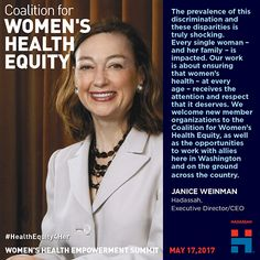 Janice Weinman, CEO/Executive Director, Hadassah Welcome New Members, Single Women, Women's Health, Single Ladies