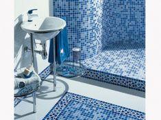 Lapeyre harmonie Mediterranean Tile, Laminate Flooring, Country, Backsplash, Home Remodeling, Bath Mat, Tiles, Sink, Bathtub
