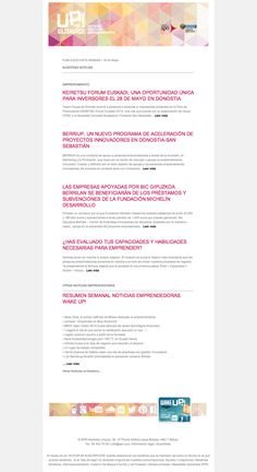 Noticias de Emprendimiento- UP Euskadi  (18-24 Mayo) 26/05/2015