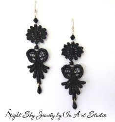 Nigerian Wedding Trend Alert  Elegant Lace Earrings to Match Your Bridal  Look a3a5929a68c