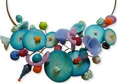 Her playful polymer bouquets are sold in trendy galleries all over France like this one (Dumauvobleu, Mathilde Colas and ...